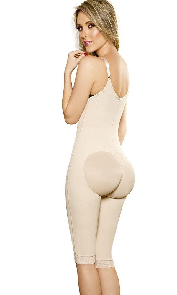 763f1f4eff 1201 Powernet Girdle Verox Central And Perinneal Zipper Long Knee