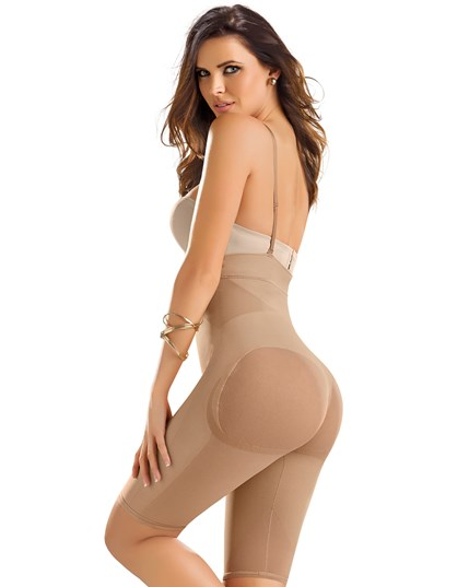 #012807 Seamless High Waist Shapewear with Thigh Compression