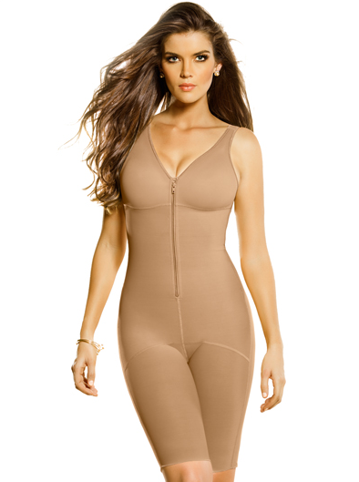 #018687 Leonisa Full Bodysuit Slimming Shaper