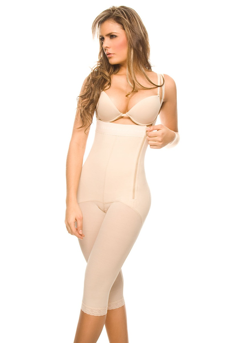 971d23488 Ann Chery Sinfonia Strapless-Under Knee Length Powernet Body Garment ...