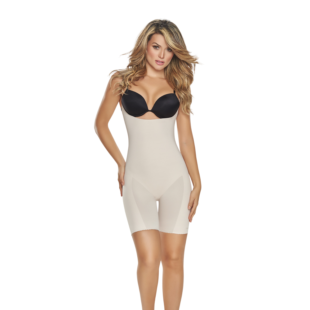 1272 Invisible Open Bust Bodysuit