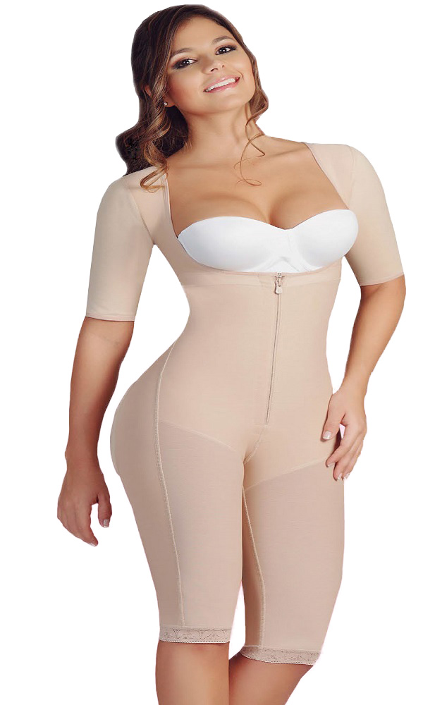 0525 Salome Powernet Liposculpture-Long Sleeves-Extreme Buttocks