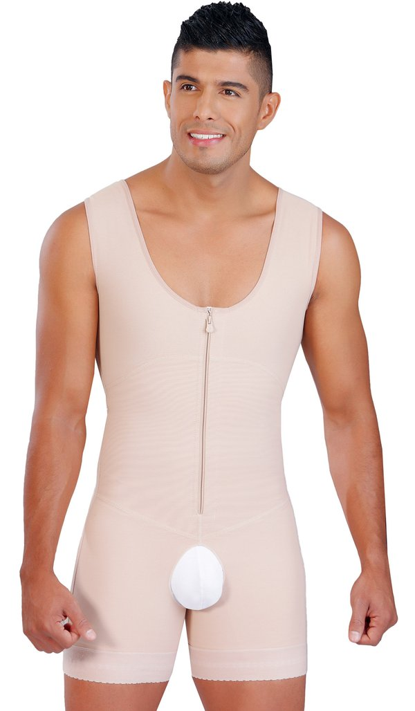 0124 Salome Powernet Men's Liposculpture Body Garment